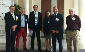 Members of the Global Sustainable Laboratory Network Working Group meet at the Labs21 2011 Annual Conference.